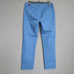 NYDJ Ankle Mid-Rise Stretch Jeans 6P Blue